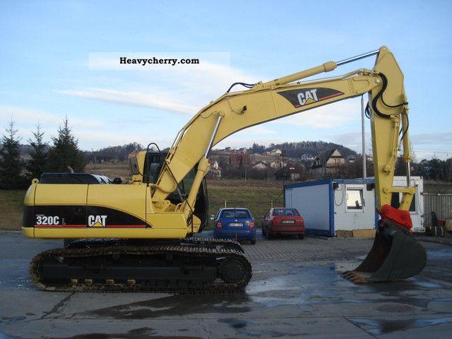 ... 320 CL 2004 Caterpillar digger Construction Equipment Photo and Specs