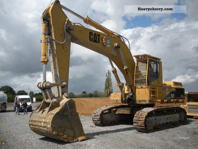 CAT ME 375 chain Bj 94 1994 Caterpillar digger Construction