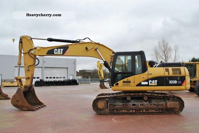 Cat 323d Sa 2007 Caterpillar Digger Construction Equipment Photo And Specs