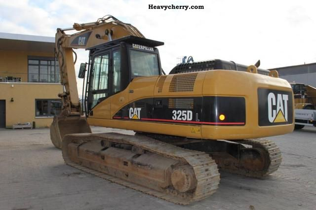 Cat 325 Dl 2006 Caterpillar Digger Construction Equipment