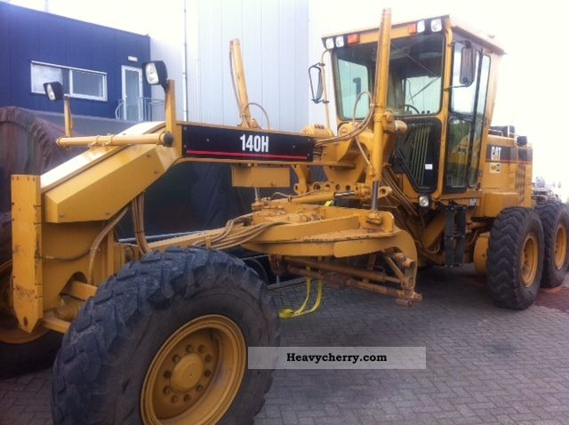 1995 CAT  140 H Grader centerpiece Bj 95 Construction machine Grader photo