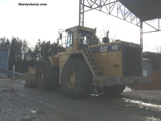 1996 CAT  990 Construction machine Wheeled loader photo