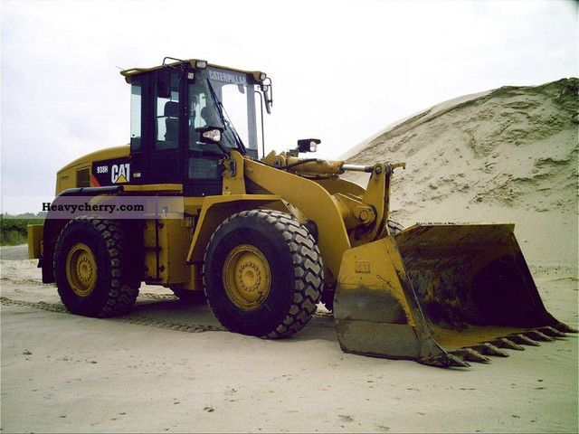 Cat 938 H 2010 Wheeled Loader Construction Equipment Photo