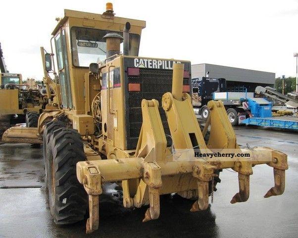 2006 CAT  140H Construction machine Grader photo