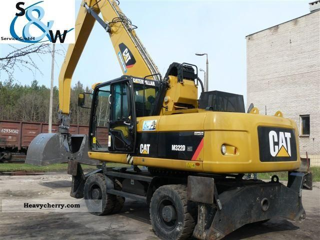 2008 CAT  M322D MH Construction machine Mobile digger photo