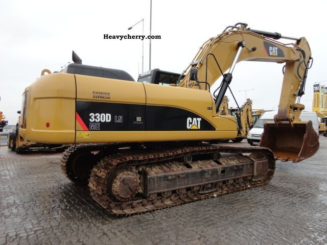 cat 330d ln 2008 other construction vehicles photo and specs. Black Bedroom Furniture Sets. Home Design Ideas
