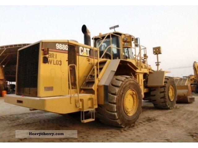 2003 CAT  988GII Construction machine Wheeled loader photo