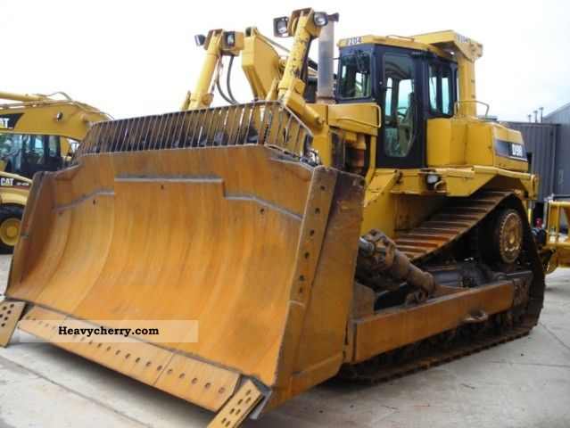 1996 CAT  D 9 R Bulldozer Ripper YOM96 Construction machine Dozer photo