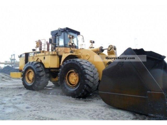 2003 CAT  990II Construction machine Wheeled loader photo