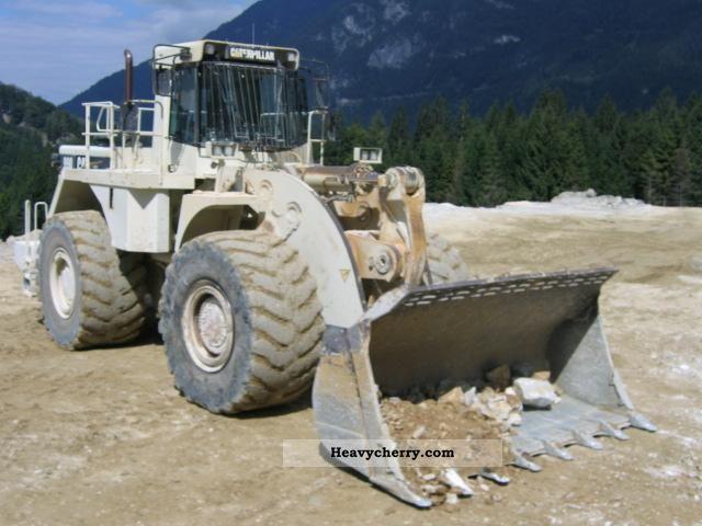 1998 CAT  990 Construction machine Wheeled loader photo