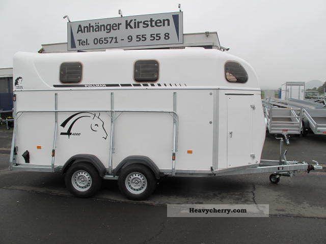 2011 Cheval Liberte  4004 4-horse trailer 3500 kg aluminum floor iki Trailer Cattle truck photo