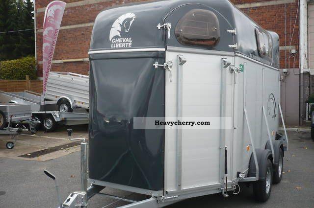 2011 Cheval Liberte  4003 * 3-horse trailer with aluminum floor he / Alubordw * Trailer Cattle truck photo