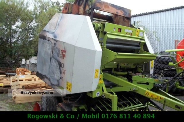 2002 Claas  Variant 280 RC Agricultural vehicle Other substructures photo