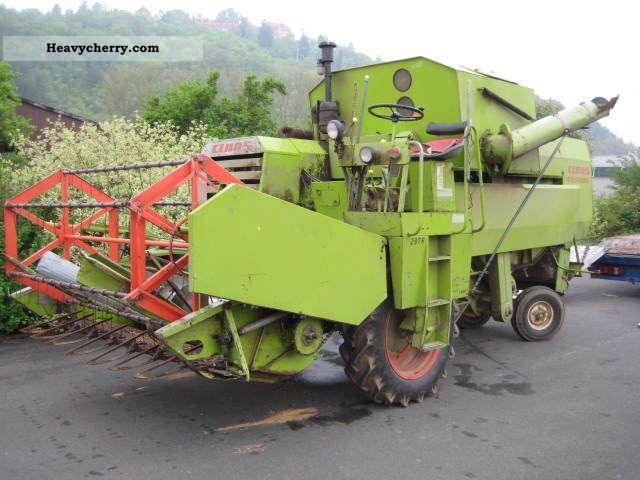 1969 Claas  Cosmos 2.20 m Hächsler Agricultural vehicle Combine harvester photo