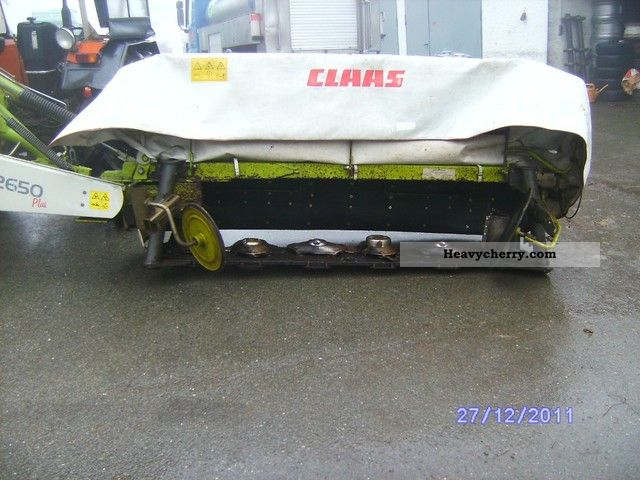 2003 Claas  Disco 2650 Plus Agricultural vehicle Reaper photo