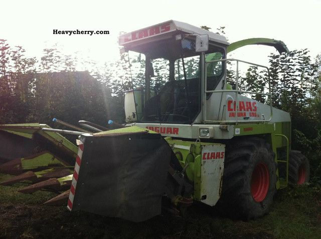 1991 Claas  CLAAS JAGUAR 695 SL Hächsler breaker Agricultural vehicle Harvesting machine photo