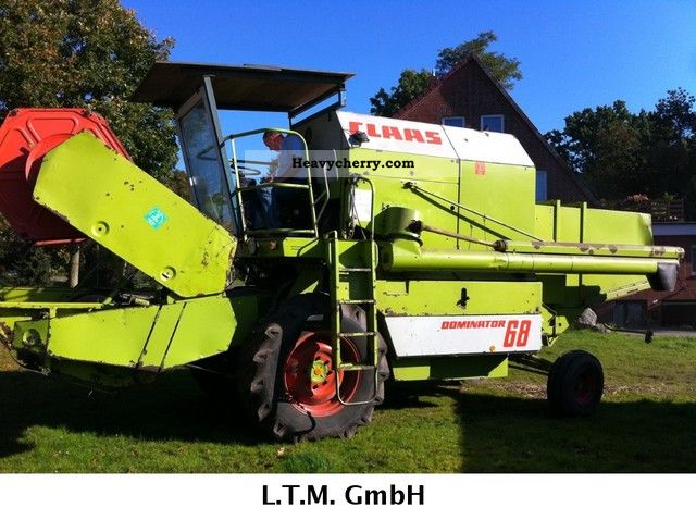 1983 Claas  Dominator 68 Agricultural vehicle Combine harvester photo