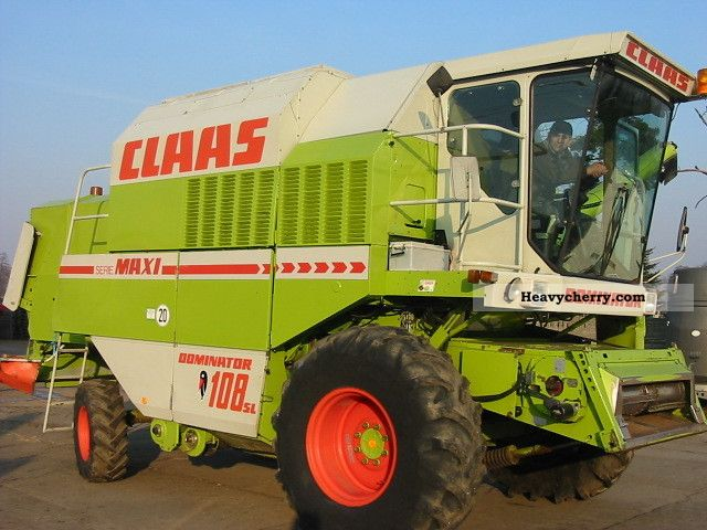 1989 Claas  DO 108SL MAXI Agricultural vehicle Combine harvester photo