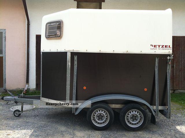 1998 Blomert  T2 - TÜV New Trailer Cattle truck photo