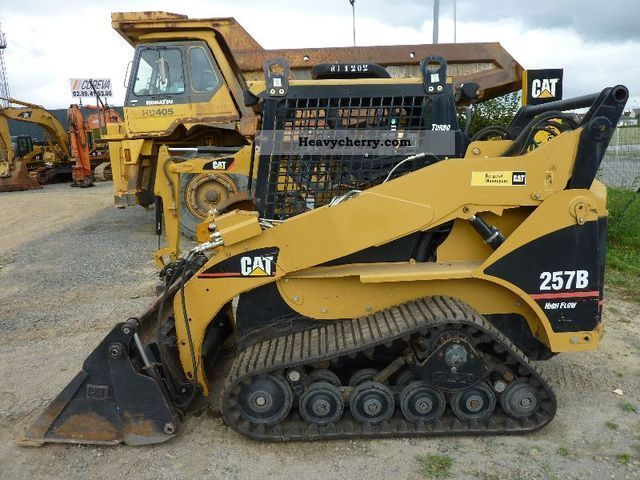 2006 CAT  257B ** Sw/3ter tax Circle / Top condition ** Construction machine Mini/Kompact-digger photo
