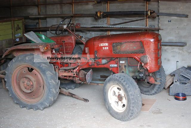 1956 Fahr  D 88 Agricultural vehicle Tractor photo
