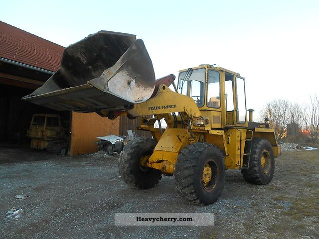 1980 Faun  F1300c \u003e\u003e\u003e\u003e\u003e 10.5 t wheel loader Construction machine Wheeled loader photo