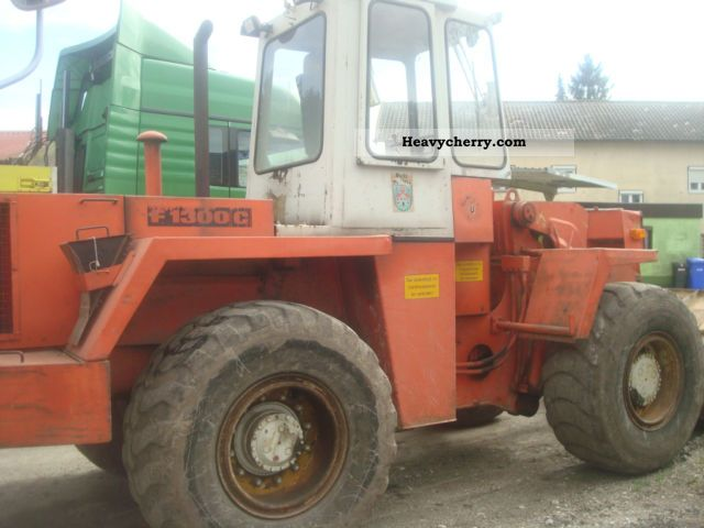 1986 Faun  1300 C Construction machine Wheeled loader photo