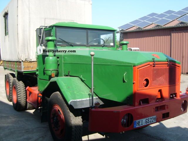 1963 Faun  912/45A Truck over 7.5t Other trucks over 7,5t photo