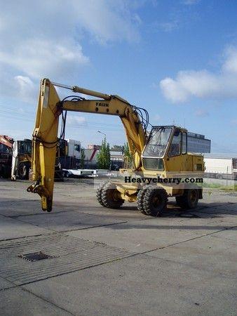 2011 Faun  FM 1025 Construction machine Mobile digger photo