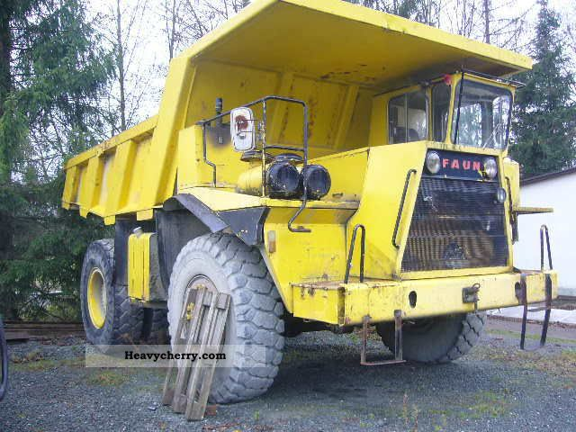 1988 Faun  K40 Construction machine Other construction vehicles photo