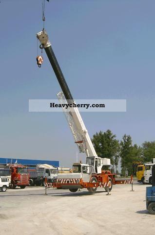 1992 Faun  RTF 30 Truck over 7.5t Truck-mounted crane photo