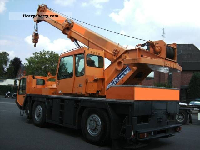 1995 Faun  ATF 30-2 Construction machine Other construction vehicles photo