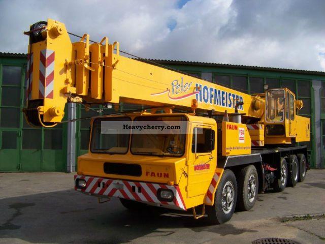 1977 Faun  Krupp 60 GMT 10x6 - 60 TONS - CRANE Truck over 7.5t Truck-mounted crane photo