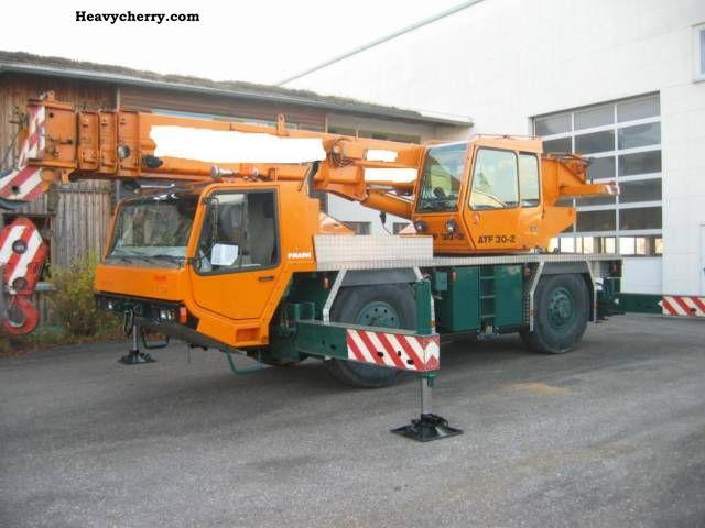 1996 Faun  ATF 30 / 2 30-ton Truck over 7.5t Truck-mounted crane photo