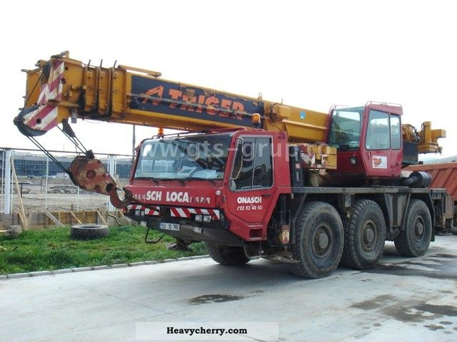 1996 Faun  RTF 40-40 T Truck over 7.5t Truck-mounted crane photo