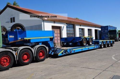 2003 Faymonville  VARIO STVZ 6HVA - bed boiler / Vesselbridge Semi-trailer Low loader photo