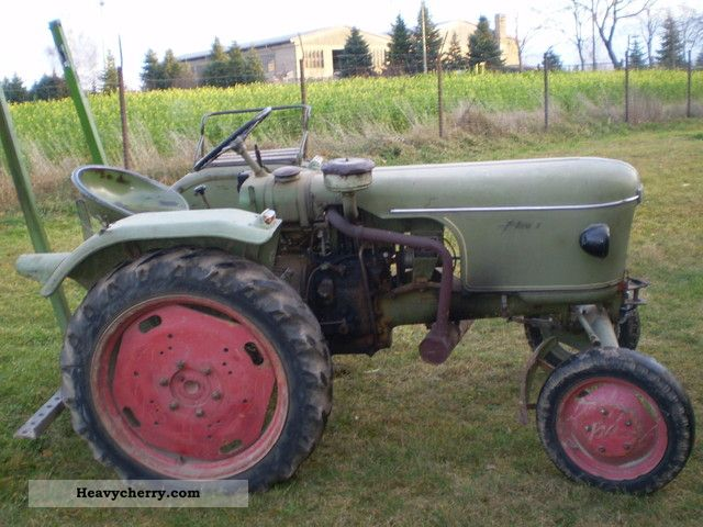 1960 Fendt  Dieselross Agricultural vehicle Tractor photo