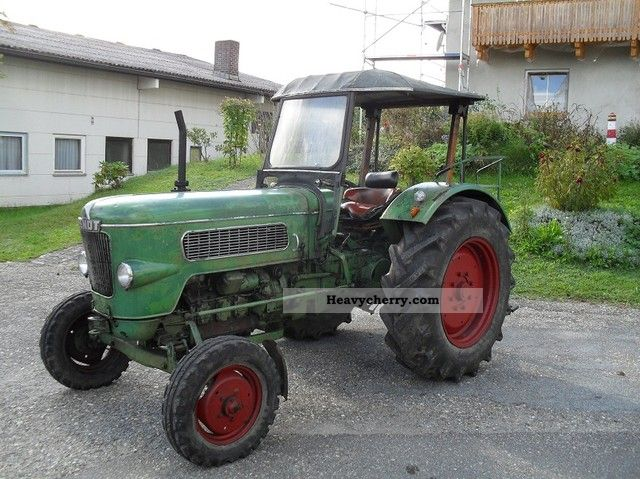 1961 Fendt  1 + new + favorite Tüv rear hydraulic roof + Agricultural vehicle Tractor photo
