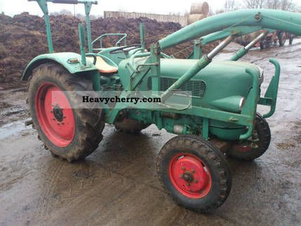 1966 Fendt  Farmer 2 Agricultural vehicle Tractor photo