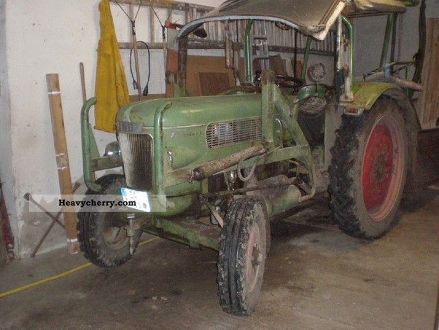1961 Fendt  Farmer Agricultural vehicle Tractor photo