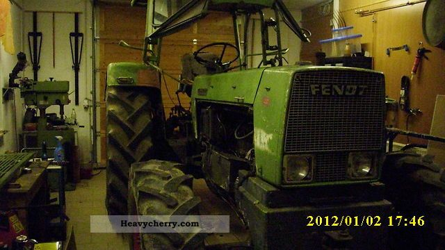 1971 Fendt  10s FWA181 Agricultural vehicle Tractor photo