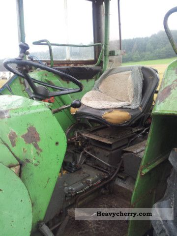 1973 Fendt  108 wheel loader with Agricultural vehicle Tractor photo