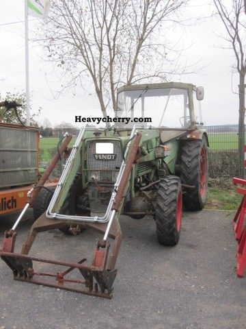 1973 Fendt  Farmer 4s Agricultural vehicle Farmyard tractor photo