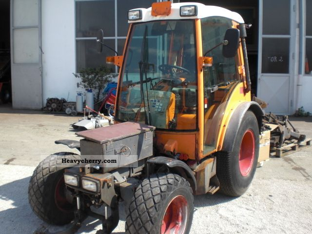 1999 Fendt  Tünnissen GT 100 articulated tractor narrow gauge Agricultural vehicle Tractor photo