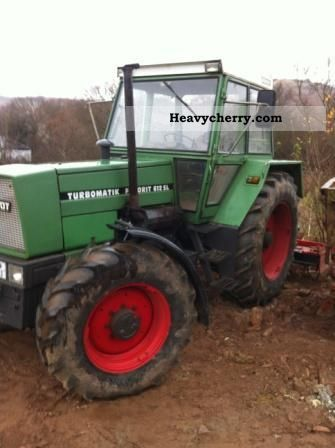 1977 Fendt  612SL Agricultural vehicle Tractor photo