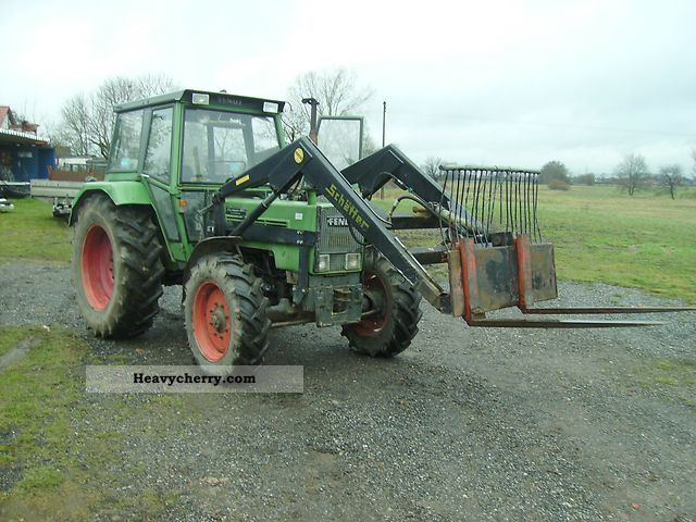 1978 Fendt  108s Agricultural vehicle Tractor photo