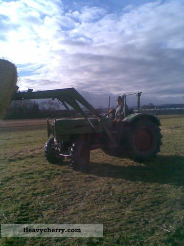 1965 Fendt  Farmer Agricultural vehicle Tractor photo