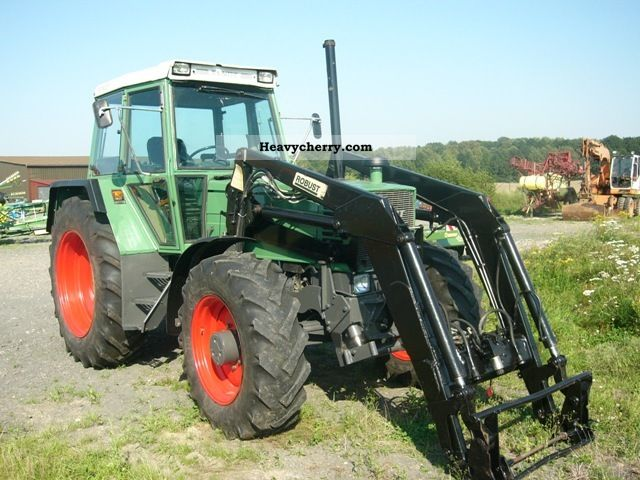 1991 Fendt  SPRZEDAM FENDT 311 TUREM z Agricultural vehicle Tractor photo