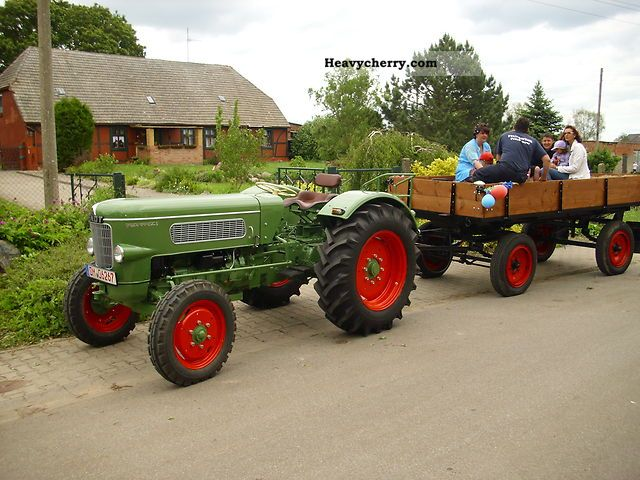1962 Fendt  Two favorite Agricultural vehicle Tractor photo