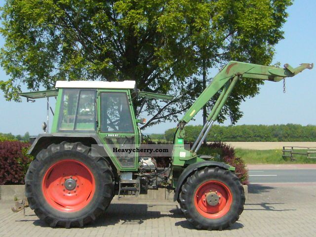 1988 Fendt  365 GTA Agricultural vehicle Tractor photo